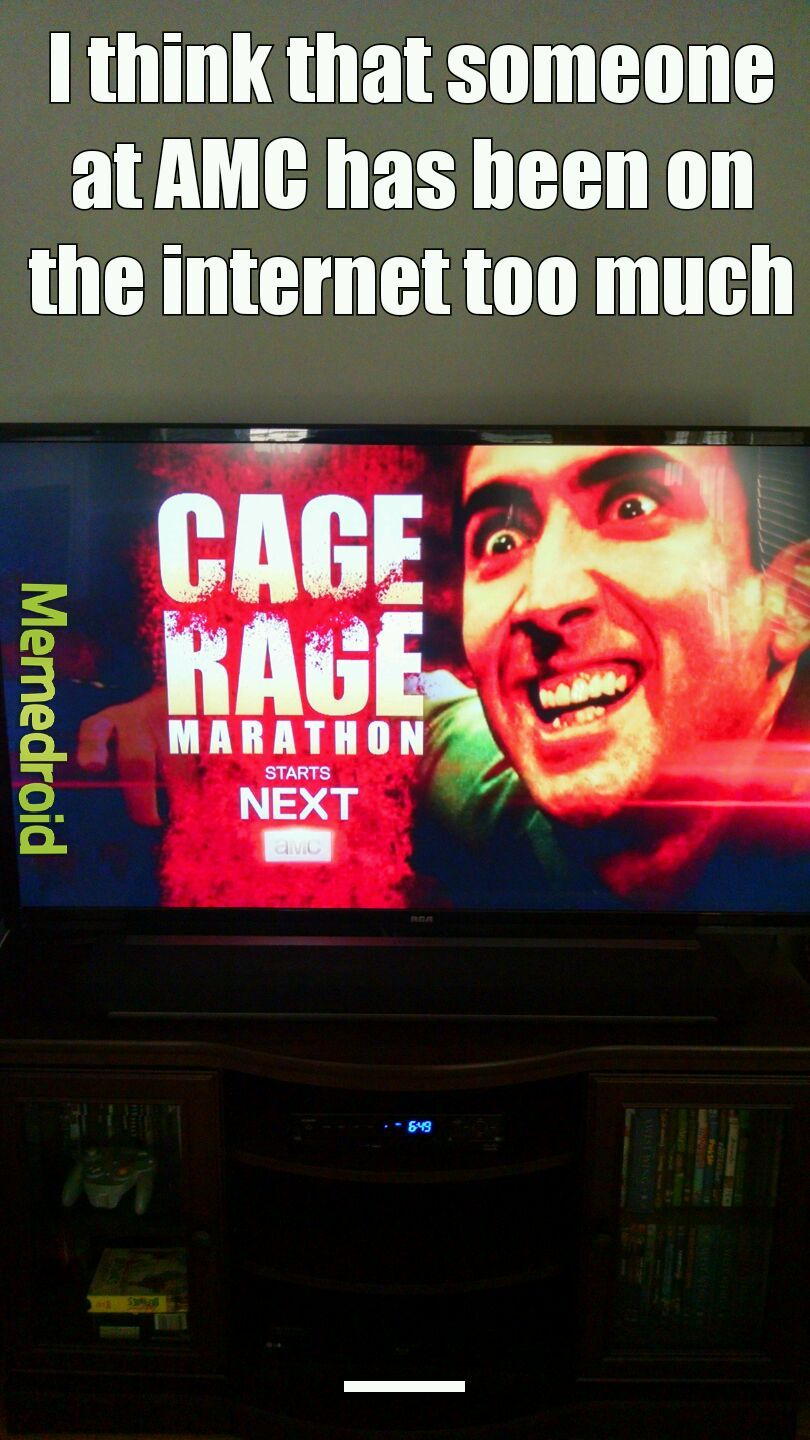 FEEL THE CAGE RAGE!!! - meme