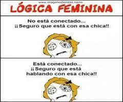 logica femenina - meme