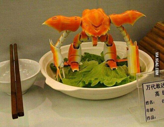 Robot crabe - meme