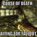 Death cause of Fallout 4