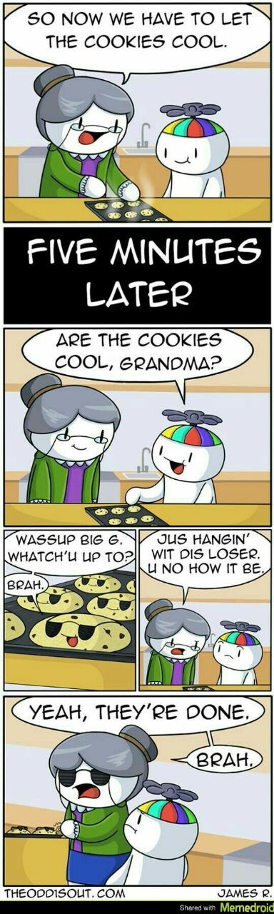 Some cool cookies - meme