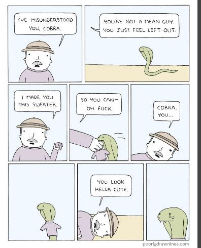 Cobra is adorbs - meme