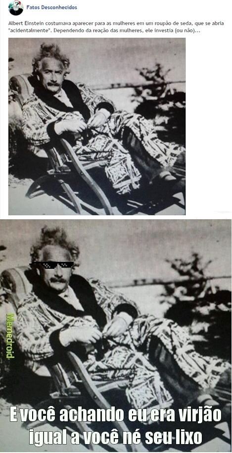 Sarrador esse Einstein - meme