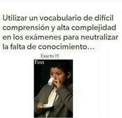Malditos examenes >:v - meme