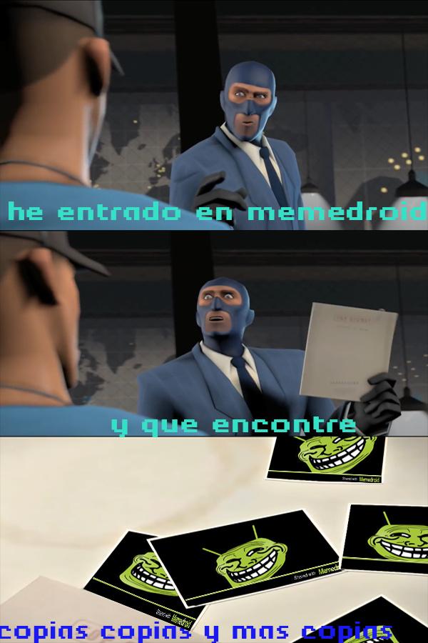 Copias y mas copias - meme