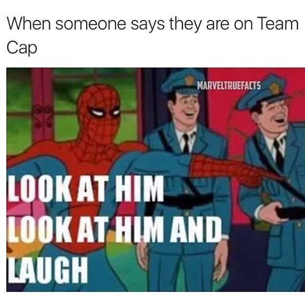 Team Iron-Man ftw - meme