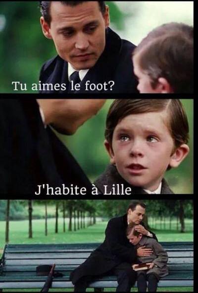 Foot à lille - meme