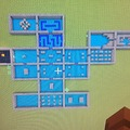 Zelda Dungeon in minecraft, 1 block=1 space