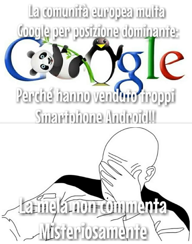 6 miliardi di euro perché Apple non vende lol lol lol - meme