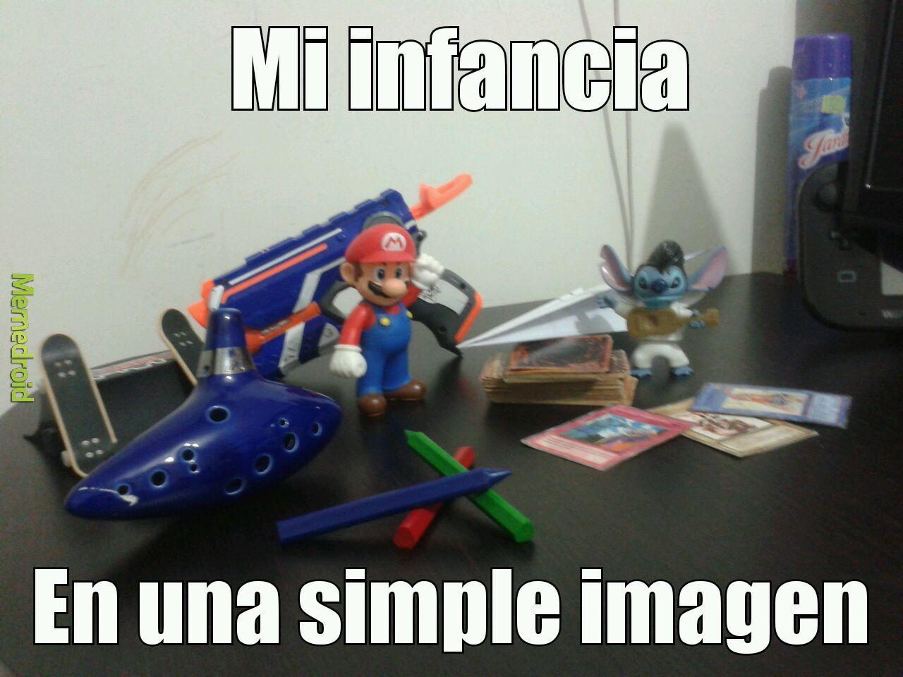Mi infancia - meme