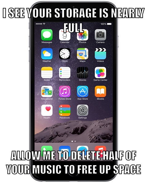 Iphone -_- - meme