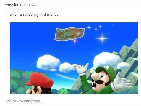 Green Mario - meme