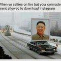 Commenter #5 is secretly Kim Jong Un's brother and commenter #1 is illegaly accessing memedroid in NK