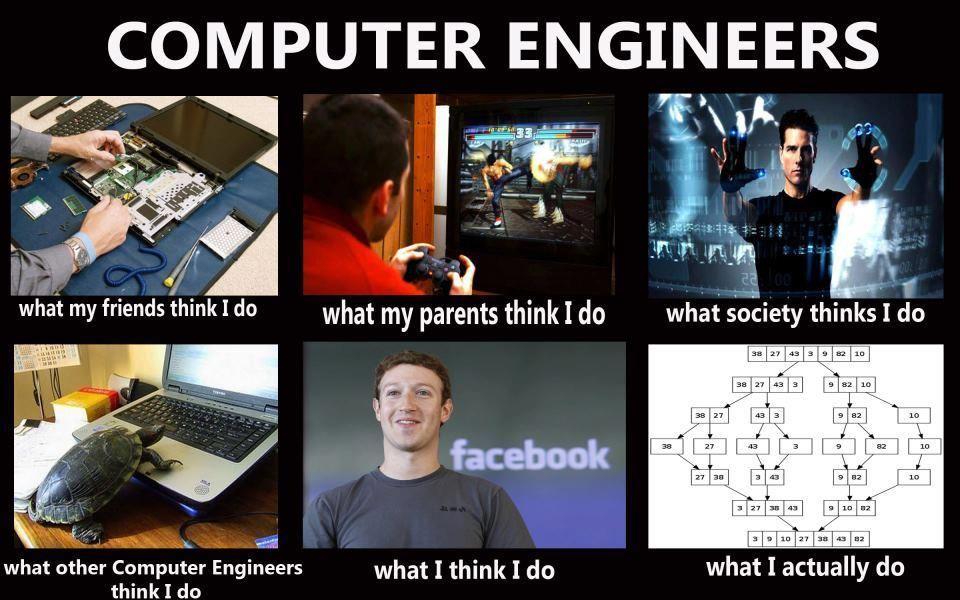 computer engineering - meme