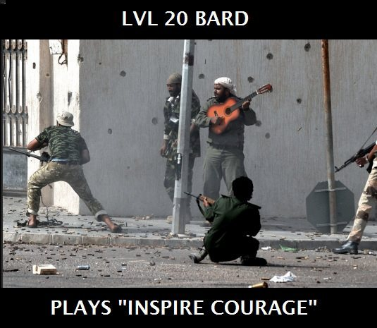Bard class is weird. - meme