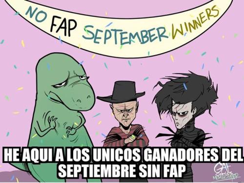 Septiembre sin fap - meme
