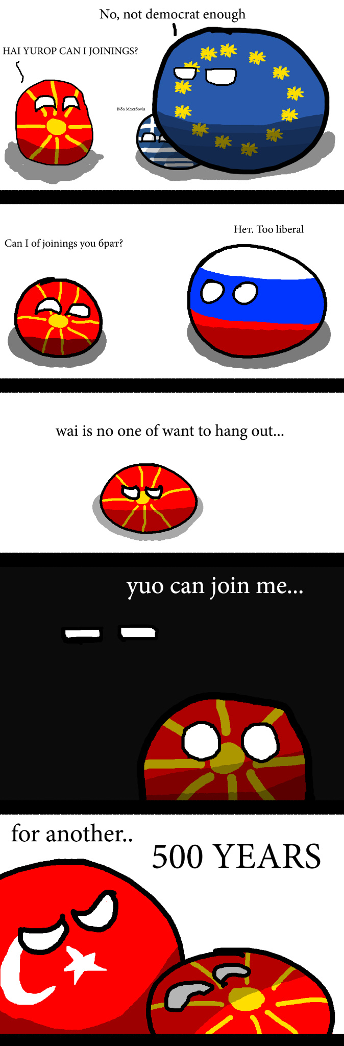 Macedoniaball - meme