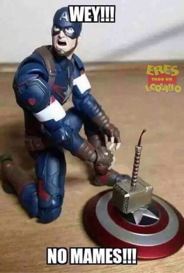 Thor loquillo xD :v - meme