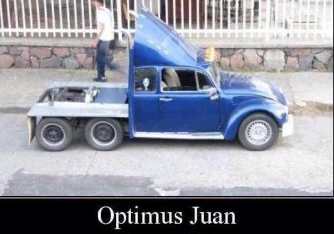 optimus juan - meme