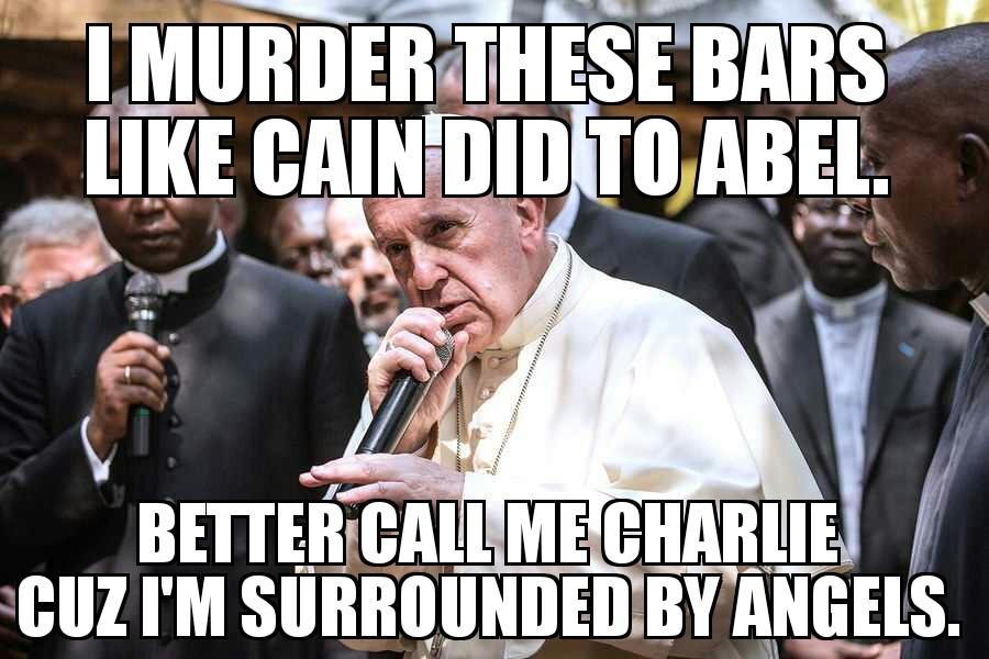 Pope is dope! - meme