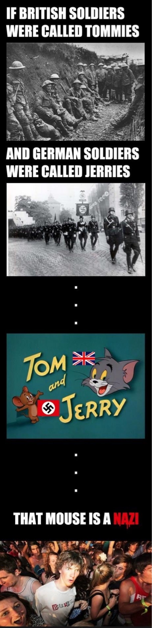 Tom and Nazi - meme