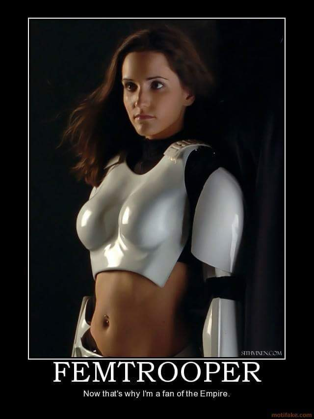 Storm Trooper ~heavy breathing~ - meme