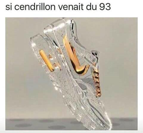 Cendrillon de la Seine-Saint-Denis. - meme