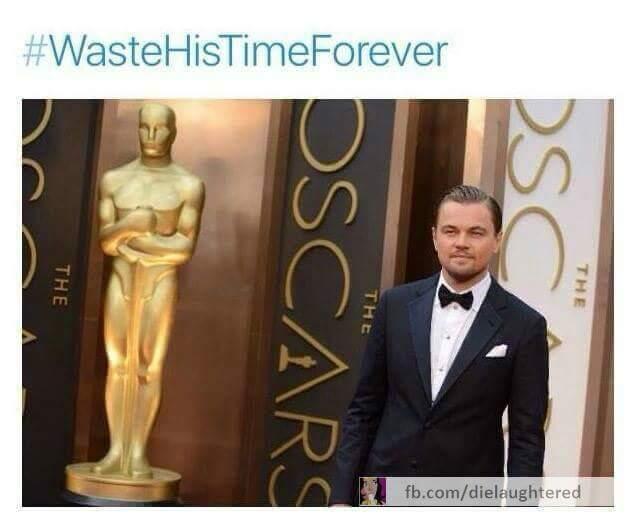 Poor Leo :/ - meme