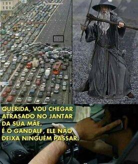 Porra Gandalf - meme