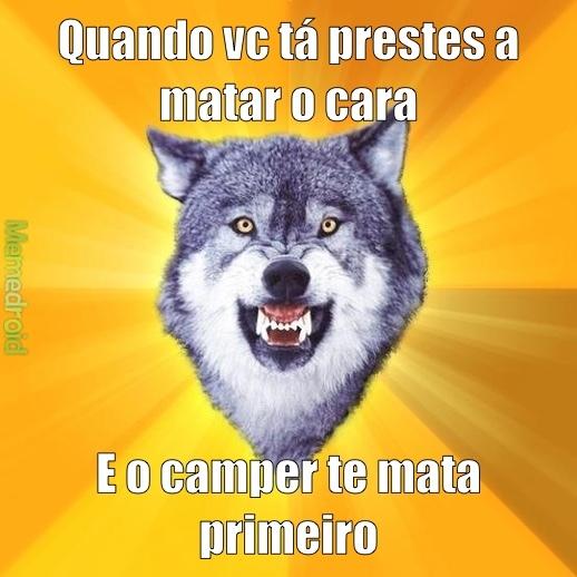 Courage Wolf - meme