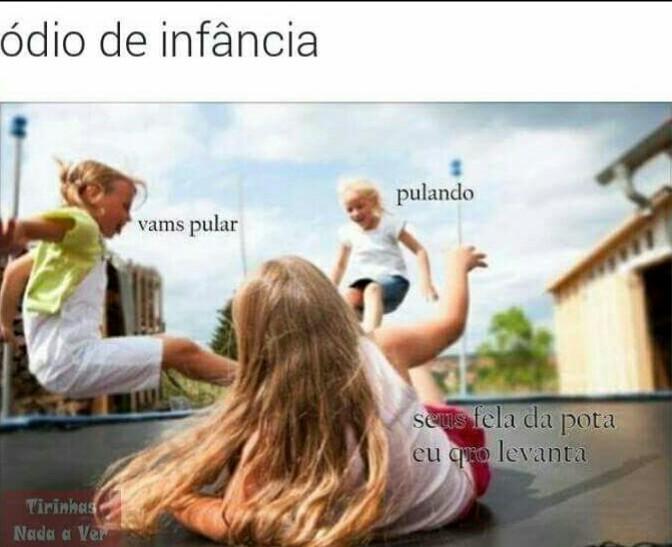 Trauma de infância - meme