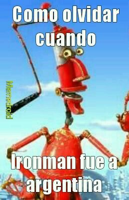 Ironman argentino - meme