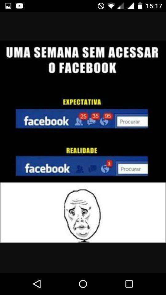 Foda se nem tenho facebook - meme