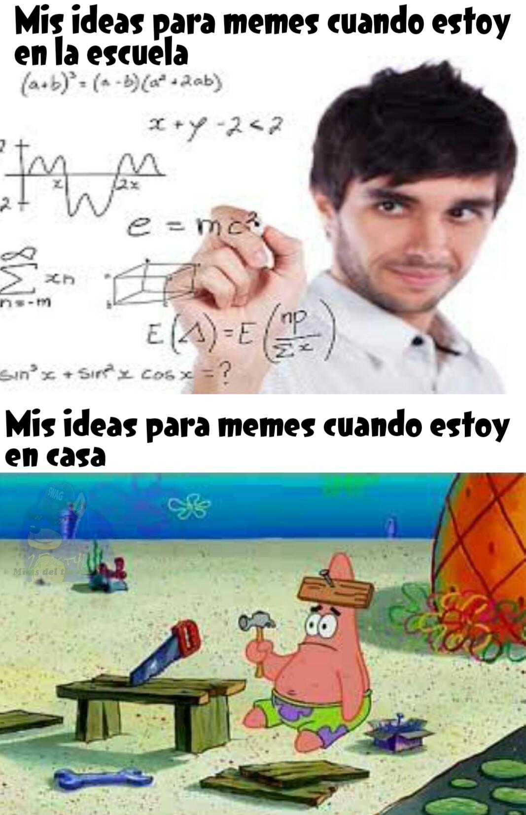 No tengo ideas :'v - meme