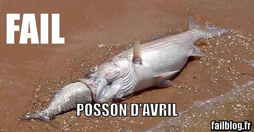 Je me suis pas fait chier pour le poisson d'avril - meme