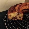 Le gâteau marbré est devenu musicien