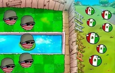 Como los gringos ven el muro - meme