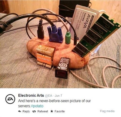 EA Servers... - meme