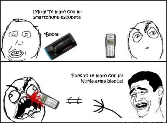 Nokia, duro como siempre. - meme