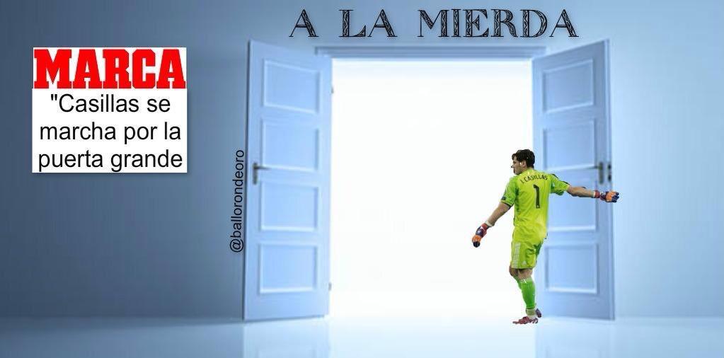 Pobre Casillas - meme