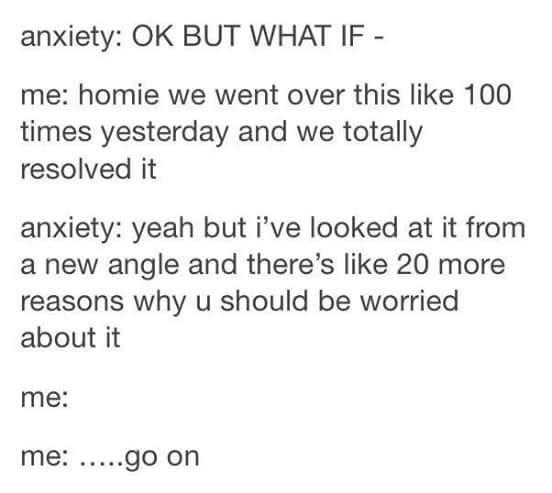 The worst feeling ever. - meme