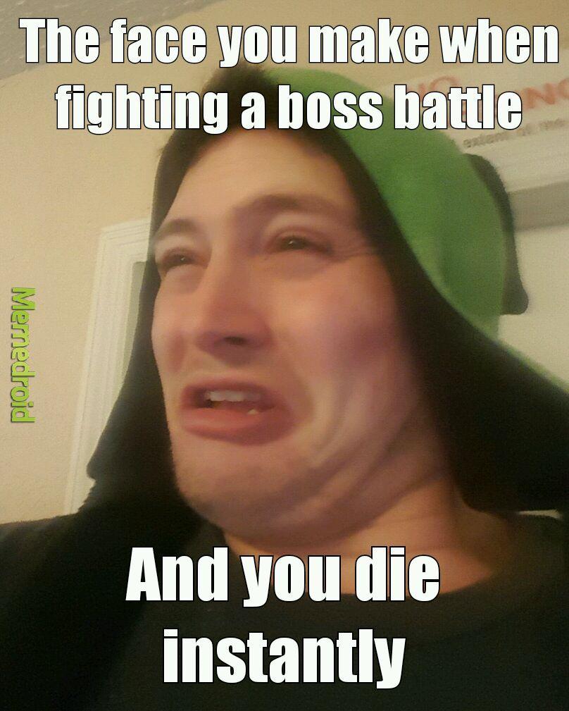 Boss battle - meme