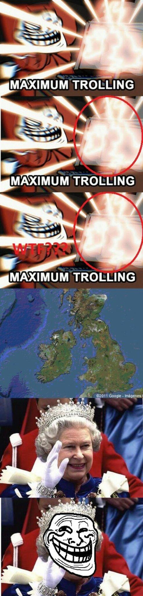 Esos ingleses son unos lokillos - meme