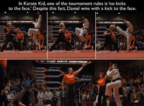 title lost his first karate match. - meme