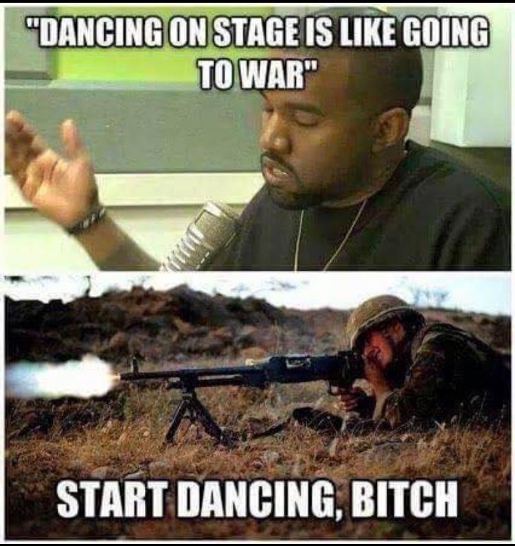 Kanye die please - meme