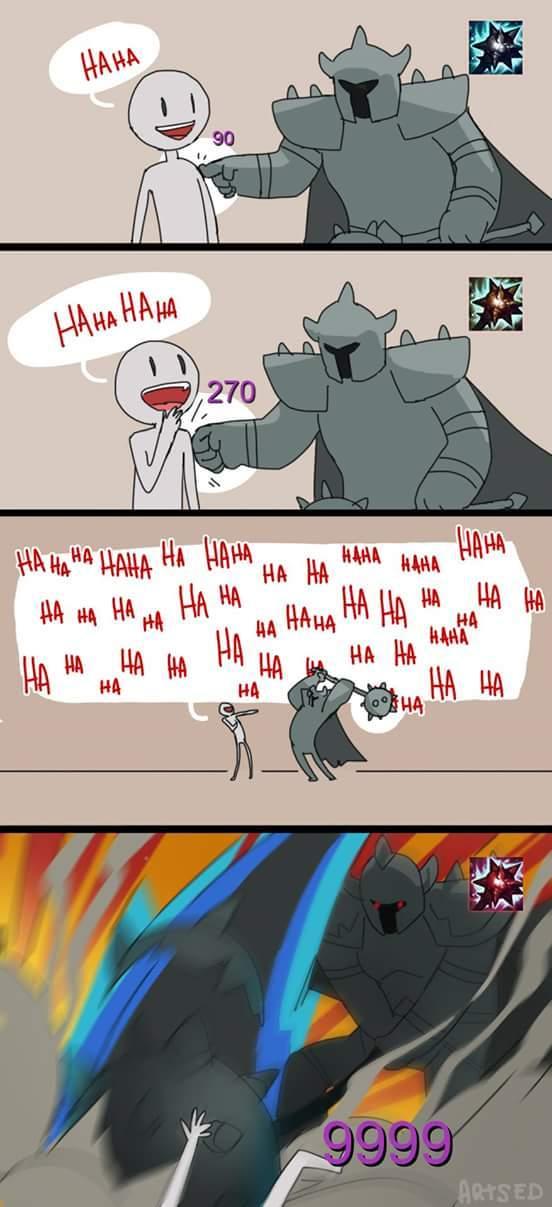 Solo Mordekaiser... - meme