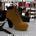 when you are a construction worker and hit the club