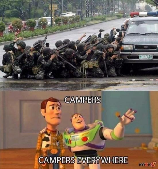 Campers - meme