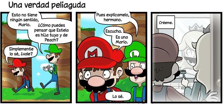 La Hija De Mario Es Rosalina/Estela?? D: - meme