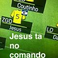 Jesus no comando da seleção